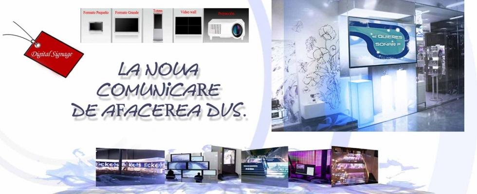 Ce este Digital Signage